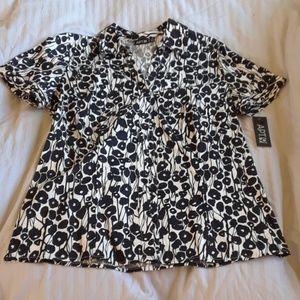 Apt. 9 floral blouse, M
